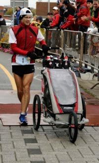 Photo courtoisie : JC Drappeau Événement : 2011 Marathon de Rimouski